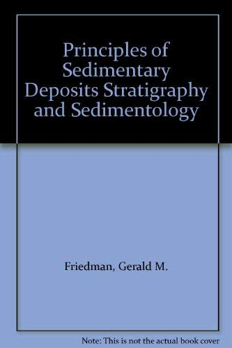 9780023173400: Principles of Sedimentary Deposits Stratigraphy and Sedimentology