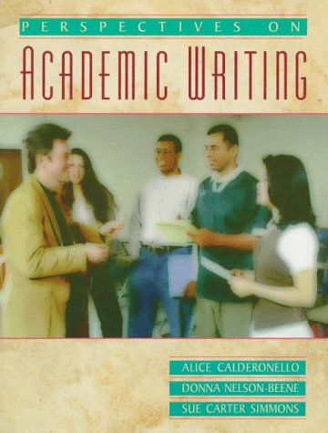 9780023182952: Perspectives on Academic Writing
