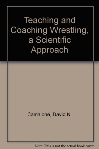 9780023183904: Teaching and Coaching Wrestling, a Scientific Approach