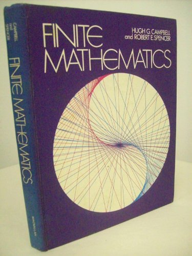 9780023185700: Finite Mathematics