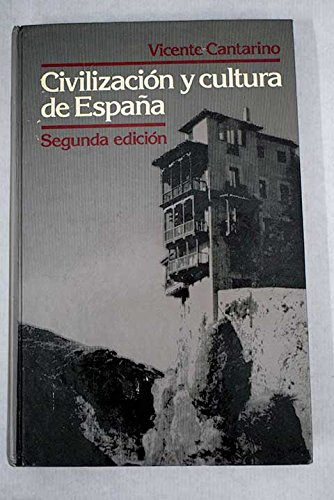 9780023190001: Civilización y cultura de España (The Scribner Spanish series)