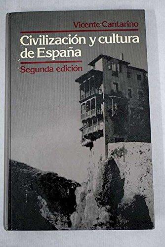 9780023190001: Civilizacion y cultura de Espana (The Scribner Spanish series)