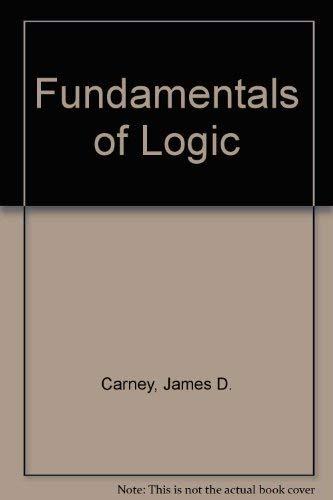 9780023194306: Fundamentals of Logic