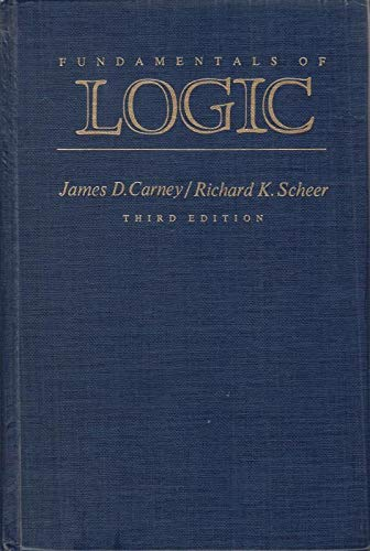 9780023194801: Fundamentals of Logic