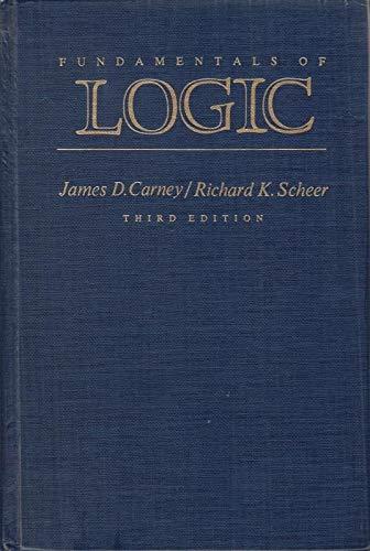 9780023194801: Fundamentals of Logic