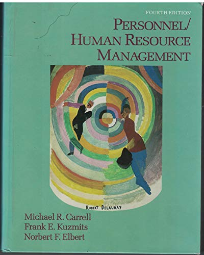 9780023195013: Personnel/Human Resource Management