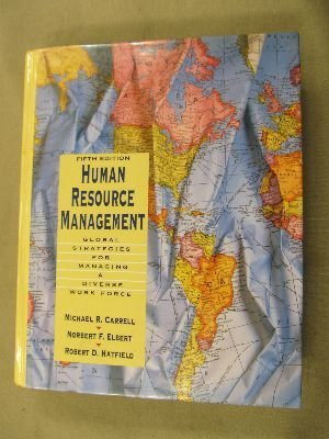9780023195334: Human Resource Management: Global Strategies for Managing a Diverse Workforce