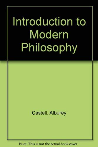 9780023200809: Introduction to Modern Philosophy