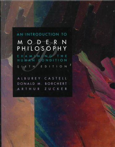 9780023200922: Introduction to Modern Philosophy: Examining the Human Condition