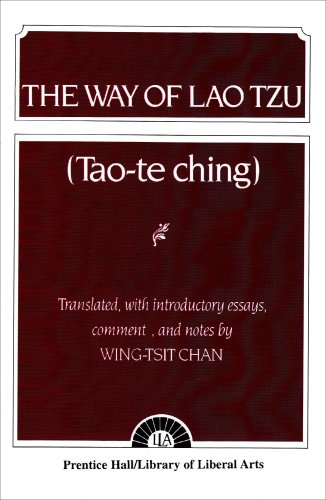 9780023207006: Way of Lao Tzu Tao-TE Chins