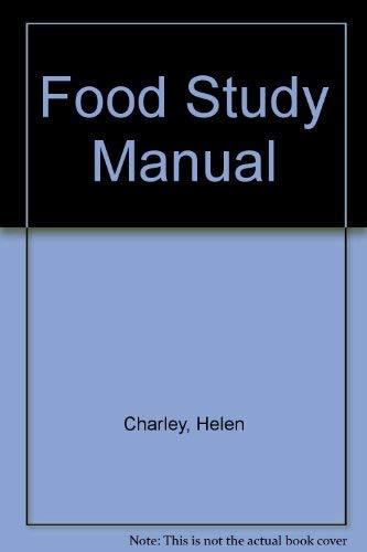 9780023219504: Food Study Manual