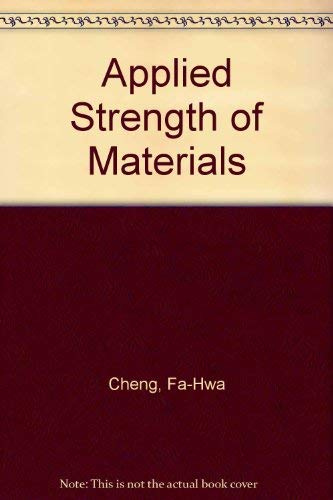 9780023223204: Applied Strength of Materials