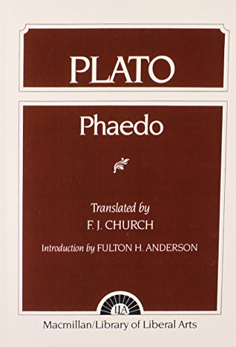 9780023224003: Plato: Phaedo (Library of Liberal Arts, No. 30)