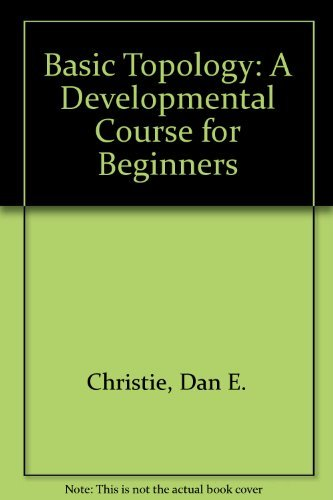 9780023224409: Basic Topology: A Developmental Course for Beginners