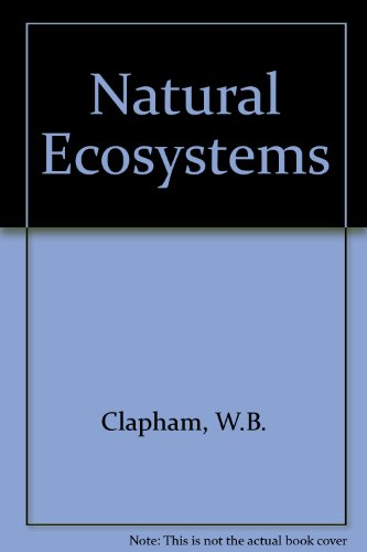 9780023225000: Natural Ecosystems