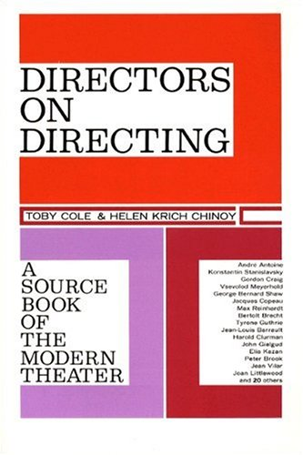 9780023233005: Directors on Directing: A Source Book of the Modern Theatre