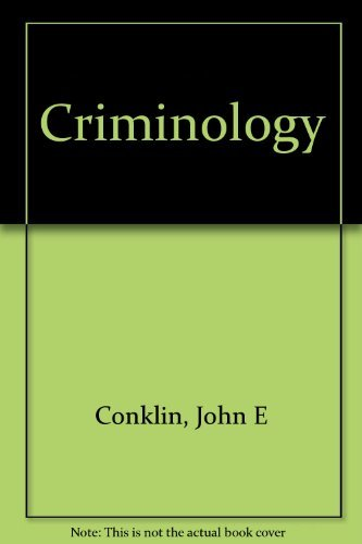 9780023237904: Criminology