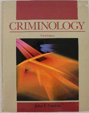 9780023238017: Criminology