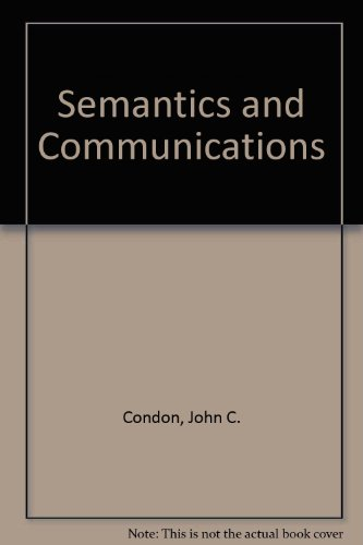 9780023242205: Semantics and Communications