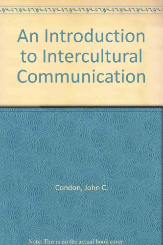 9780023243400: An Introduction to Intercultural Communication