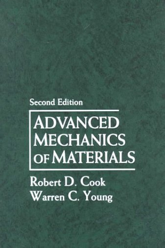 9780023246203: Advanced Mechanics of Materials