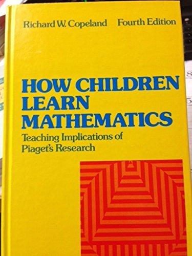 9780023247705: How Children Learn Mathematics