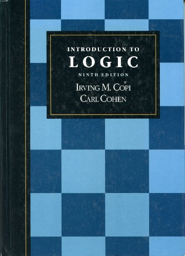9780023250415: Introduction to Logic