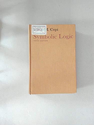 9780023250507: Symbolic Logic
