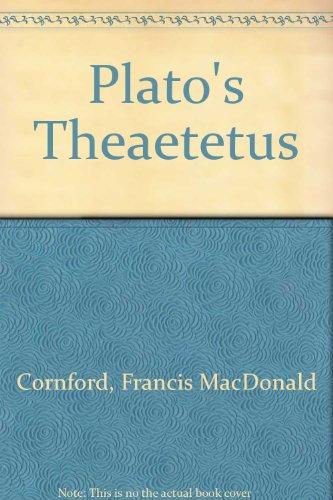 9780023251702: Plato's Theaetetus