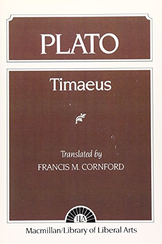 9780023251900: Plato: Timaeus