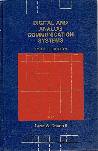 9780023252815: Digital and Analog Communication Systems