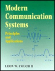 9780023252860: Modern Communication Systems: Principles and Applications