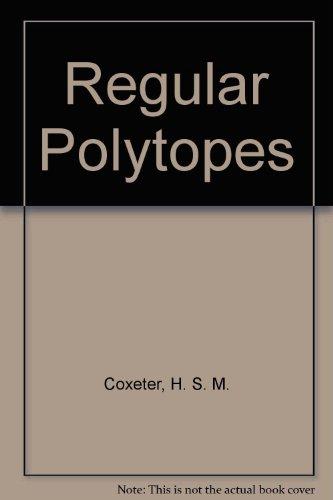 9780023252907: Regular Polytopes