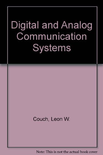9780023253911: Digital and Analog Communication Systems
