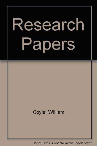 9780023254314: Research Papers