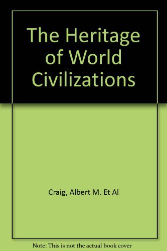 9780023254918: The Heritage of World Civilizations
