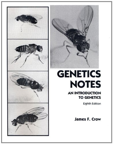 9780023258800: Genetics Notes: An Introduction to Genetics (8th Edition)