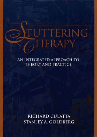 9780023263118: Stuttering Therapy: An Integrated Approach to Theory and Practice