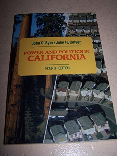 9780023263255: Power and Politics in California