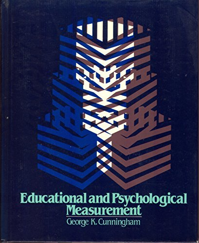 9780023263309: Educational and Psychological Measurement