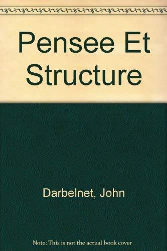 9780023275104: Pensee Et Structure