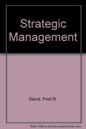 9780023278419: Strategic Management