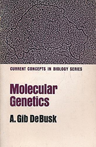 9780023280702: Molecular Genetics