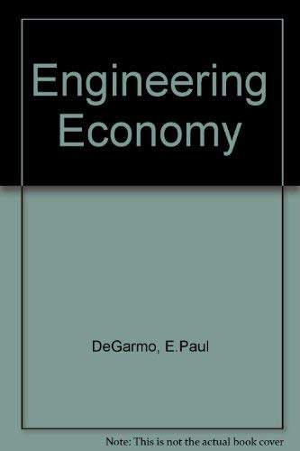 9780023281600: Engineering Economy