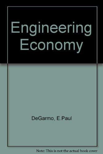 9780023281600: Engineering Economy