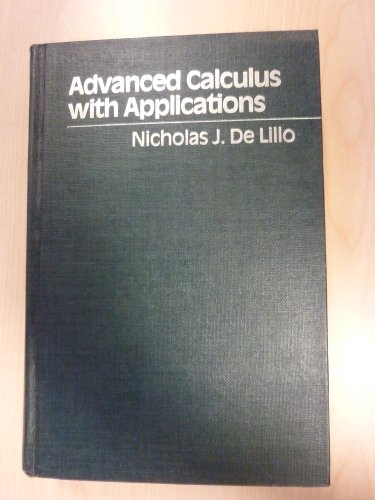 9780023282201: Advanced Calculus with Applications