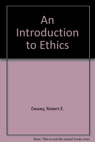 9780023294808: An Introduction to Ethics