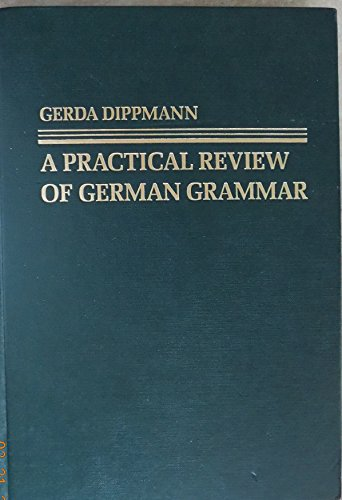 9780023296109: A practical review of German grammar