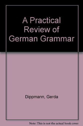9780023296109: A practical review of German grammar