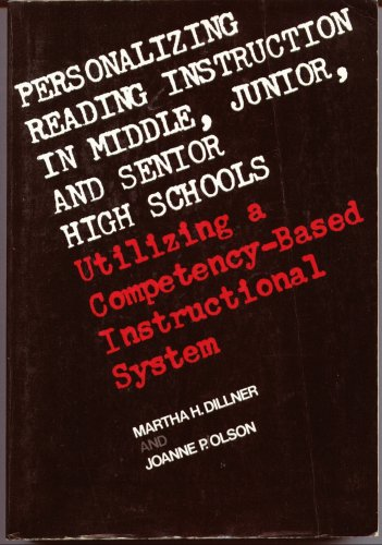 9780023297908: Personalizing Reading: Instructions in Junior and Senior School